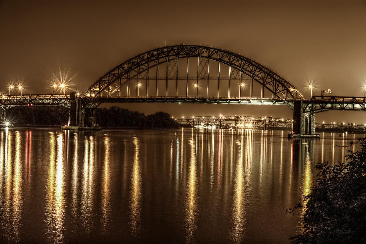 Bridge Philadelphia Night  - techfun / Pixabay