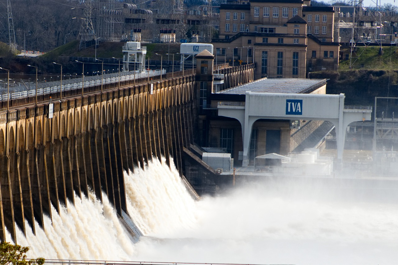 Dam Water River Tennessee  - Christopher_OToole_Images / Pixabay