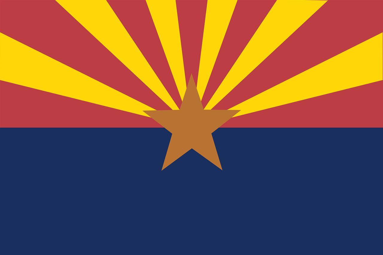 Flag State Arizona Star Stripes  - Clker-Free-Vector-Images / Pixabay